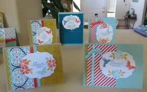 Blooming Marvelous Cards and box1