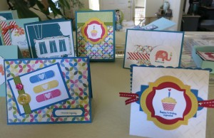 Pattern Occassions cards and box