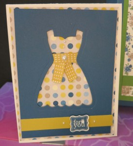 All Dressed Up Card # 1
