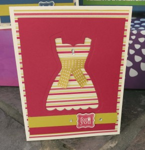 All Dressed Up Card # 2