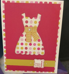 All dressed up Card # 4