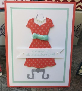 All Dressed Up Card