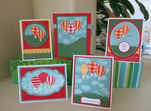 Up Up & Away Box and 4 cards