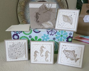 By the Sea Box and 4 Cards