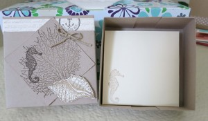By the Sea Box with Envelope