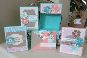 Flower Shop Box and 4 Cards