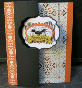 Halloween Happiness Thinlet card