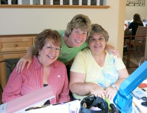 Pat Pam and Lynette