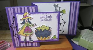 Cauldron Bubble Witch Card2