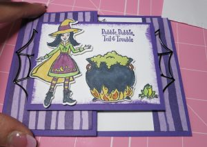 Cauldron Bubble Witch Card4